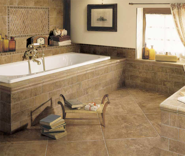 Tile Designs From Florim USA In Bathroom Tile Design Ideas On Floor