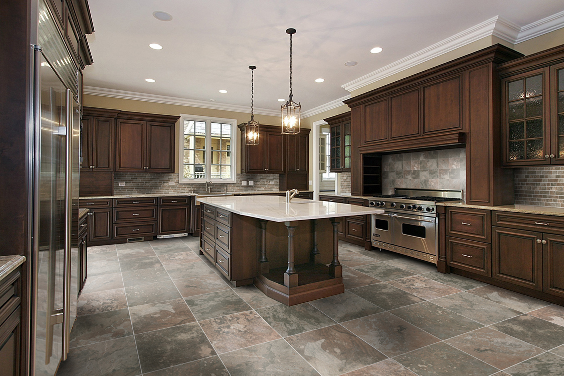 Kitchen tile design from florim usa in kitchen tile design ideas on floor tiles - Kitchen design tiles ...