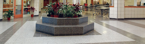 Terrazzo Tile from Wasau Tile