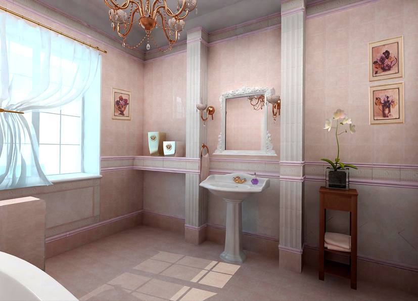 elegant bathroom decor ideas which show a classic and modern interior. Interior Design Ideas. Home Design Ideas