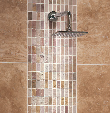 Shower Tile Ideas Travertine