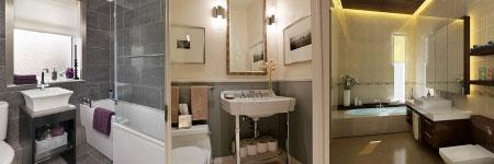 Bathroom tile design: using neutral tones in your color decision