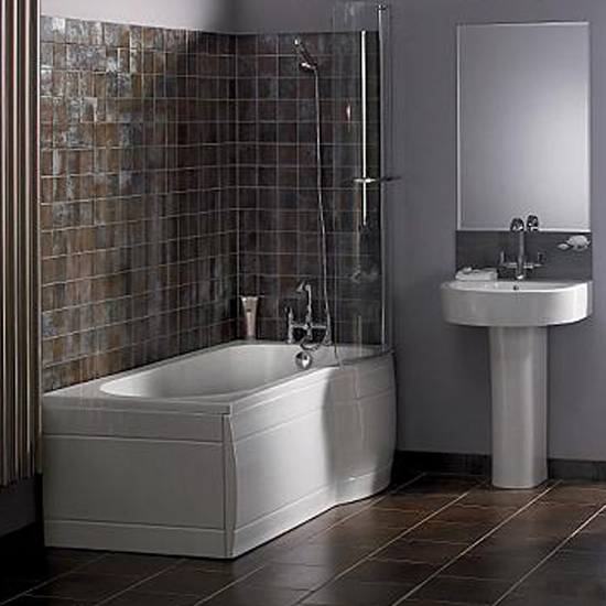 Bathroom In Grey Tile Part 1 Ftd Company San Jose