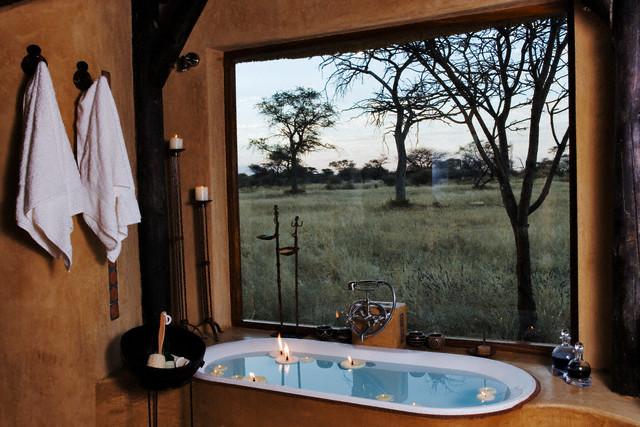 Eco-style bathroom