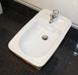 Floor Around Bidet