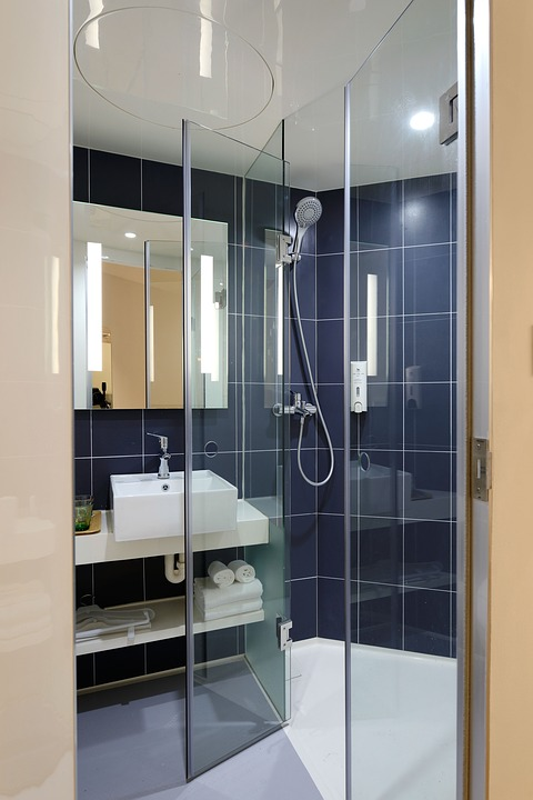 Shower in Guest Room